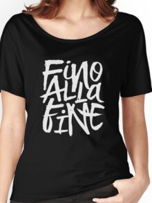 Fino Alla Fine - Juventus Women's Relaxed Fit T-Shirt