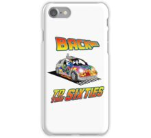 Back To the Sixties iPhone Case/Skin