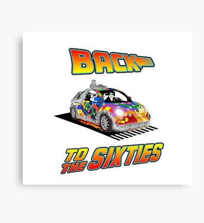 Back To the Sixties Canvas Print