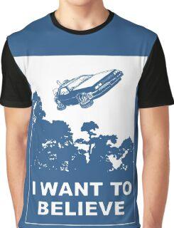 I believe in Delorean Graphic T-Shirt