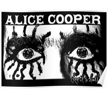 Alice Cooper - Love It To Death Poster