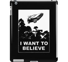 I believe in Delorean iPad Case/Skin