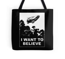 I believe in Delorean Tote Bag