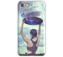 The universe always provides iPhone Case/Skin