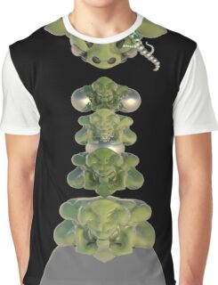 Gecko alien Graphic T-Shirt