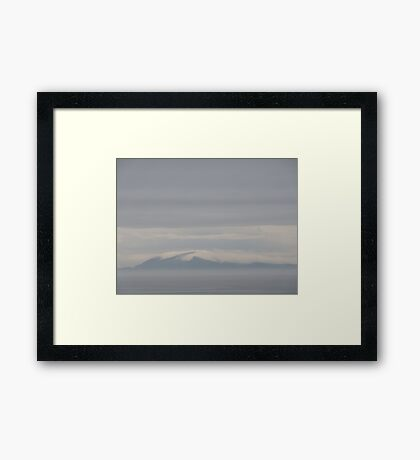 Fantasy Within the Clouds Framed Print