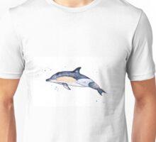 Common dolphin watercolour  Unisex T-Shirt