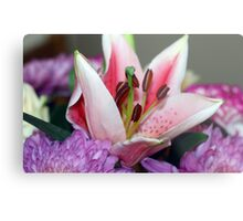 Exquisite lily Metal Print