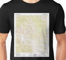 USGS TOPO Map California CA Catclaw Flat 289049 1972 24000 geo Unisex T-Shirt