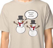Snowman Christmas Classic T-Shirt