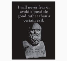 I Will Never Fear Or Avoid - Socrates Kids Tee