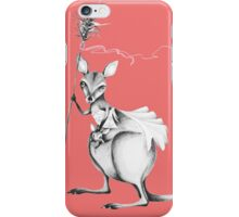 Wallaby warrior iPhone Case/Skin