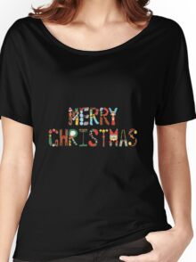 Colourful Merry Christmas Women's Relaxed Fit T-Shirt