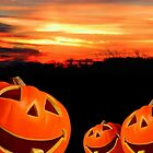 Halloween Sunset by Barbny