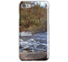 Murray River in a rush 2 iPhone Case/Skin