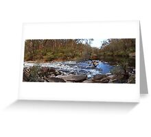 Murray River in a rush 2 Greeting Card
