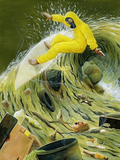 Garbage Wave by Brian DeYoung