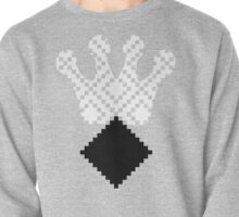 Mayan Third Eye Logo [Black White] | Fresh Thread Shop Pullover