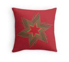 Holiday Star 1 Throw Pillow