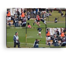 Canberra Rugby  Canvas Print