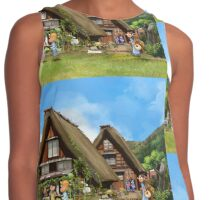 lolo at japan relax Contrast Tank