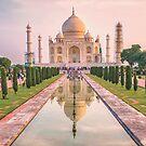 Taj Mahal at Sunrise by TonyCrehan
