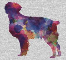 Brittany Spaniel in watercolor Baby Tee