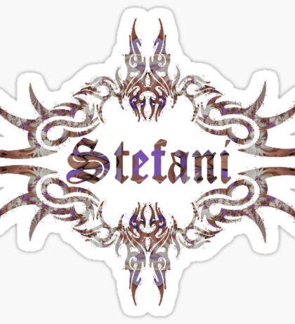 Stefani Sticker