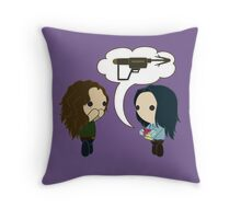 You Were Coveting My Grappler Throw Pillow