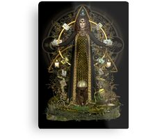 Witch of the Tarot Metal Print