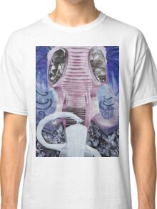 Gas Mask Elephant Classic T-Shirt
