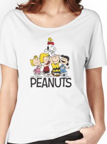 Snoopy Peanuts Women's Relaxed Fit T-Shirt