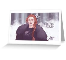 Queen in the north Greeting Card
