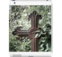 5.9.2014: Cross from Abandoned Cemetary iPad Case/Skin