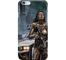 Cyberpunk Painting 037 iPhone Case/Skin