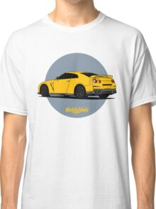 Nissan GT-R (yellow) Classic T-Shirt