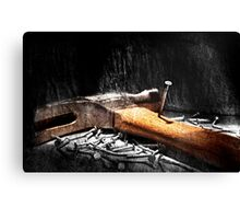 The Nail's Revenge  Canvas Print