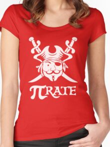 Pi Rate Shipped Women's Fitted Scoop T-Shirt