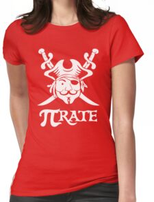 Pi Rate Shipped Womens Fitted T-Shirt