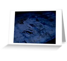 Abstract Photography Series Greeting Card