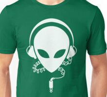 Alien Music DJ Unisex T-Shirt