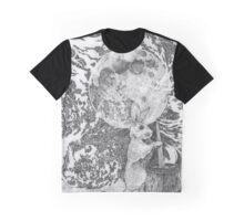 Moon Rabbit Graphic T-Shirt