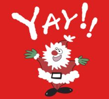 Yay!! It's Christmas  Kids Tee