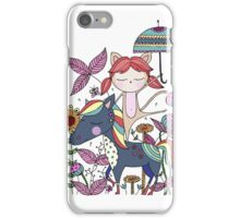 Prancing Girl iPhone Case/Skin