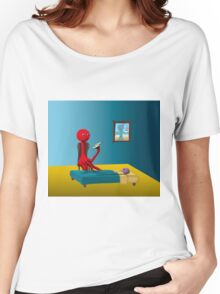 Rennie's Bedtime Story Women's Relaxed Fit T-Shirt