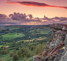 """Sunset Valley"" by Bradley Shawn  Rabon"