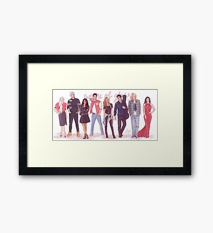 Throne of Glass - Modern day Framed Print