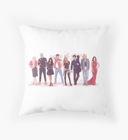 Throne of Glass - Modern day Throw Pillow