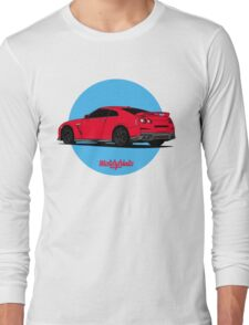 Nissan GT-R (red) Long Sleeve T-Shirt