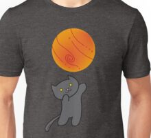 Cat with Planet Unisex T-Shirt